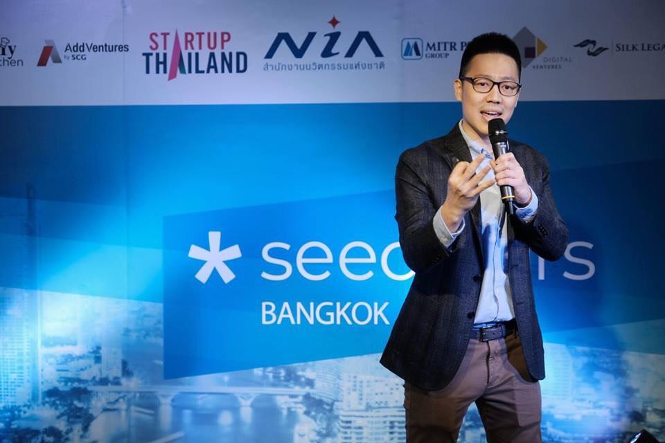 SkillSolved's CEO in Seedstars Bangkok 2018