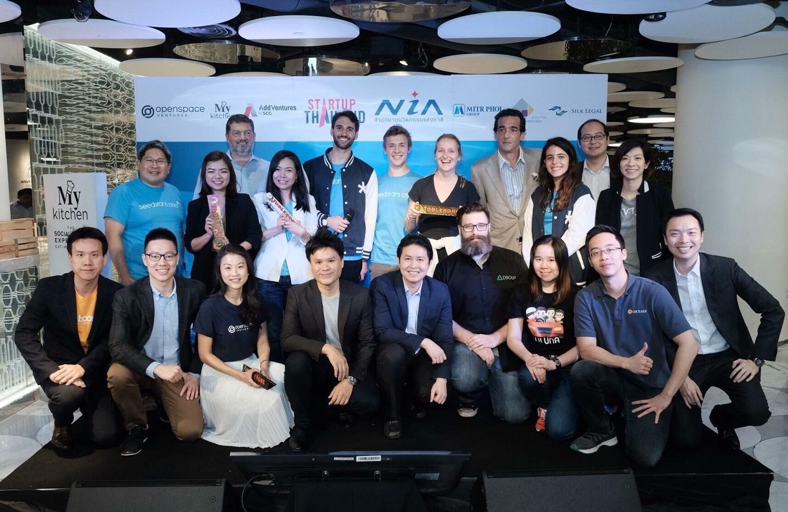 The Finalists of Seedstars Bangkok 2018
